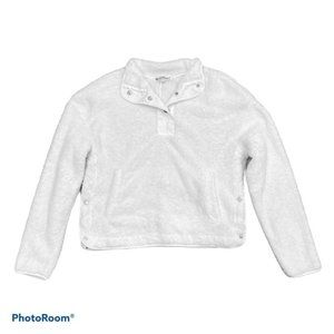 Wallflower Sherpa Pullover Size Large